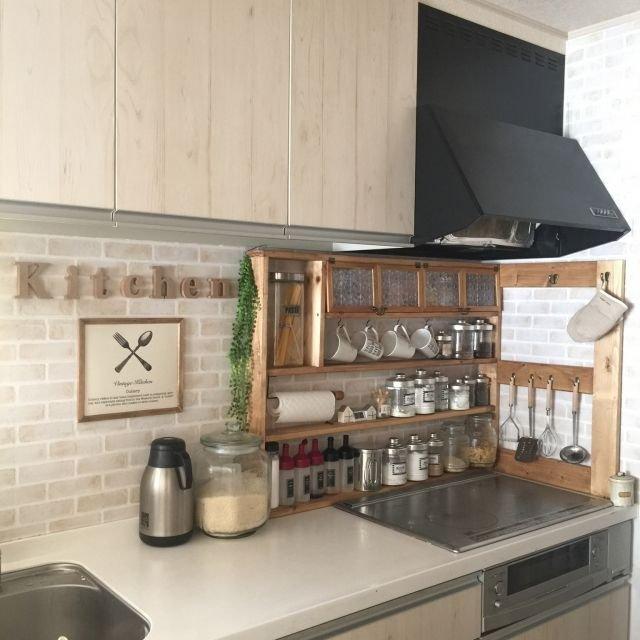 f92f1af42ca8ceaad271242275fab888 - 可愛いキッチンを演出するために使えるダイソーの便利グッズ!
