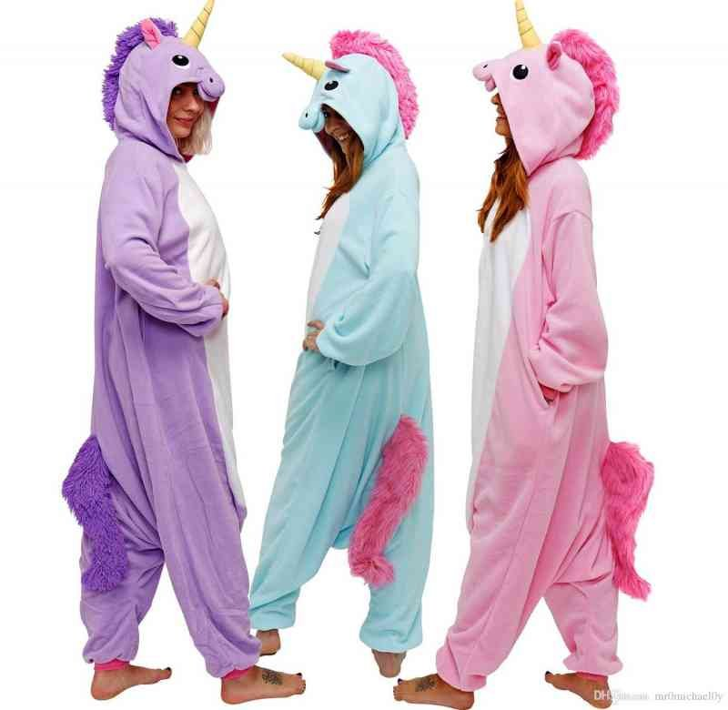 happybuy kigurumi animal onesie rainbow pony - 8 razões de por que dormir sem roupas pode lhe causar problemas