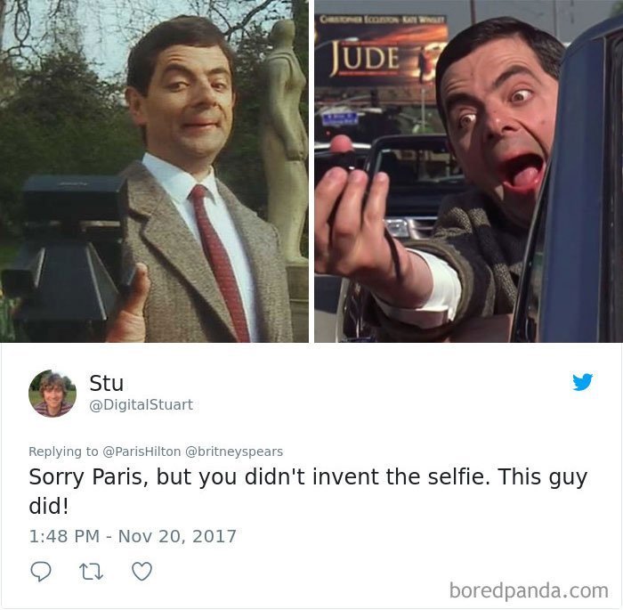 paris hilton britney spears invented selfie 11 5a1bf2604c85a  700 - Paris Hilton Claimed She And Britney Spears Invented Selfie, See How People Reacted To This