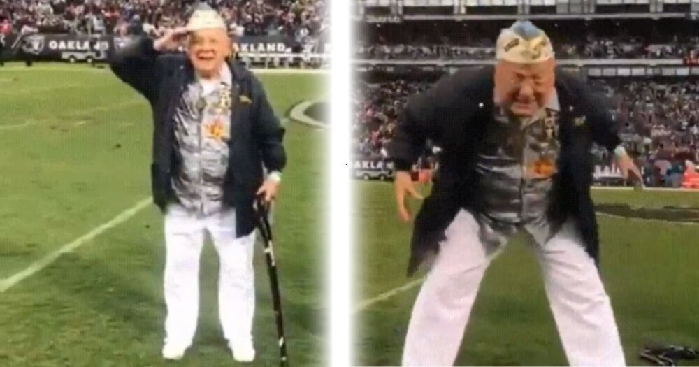 pearl harbor survivor - Old Pearl Harbor Survivor Makes Amazing Appearance, Wins The Hearts Of Over 54,000 Audience