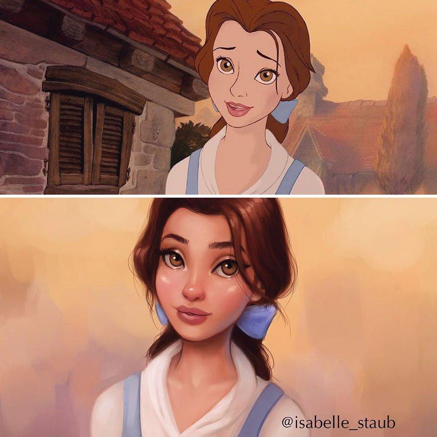 Belle, Beleza E A Besta