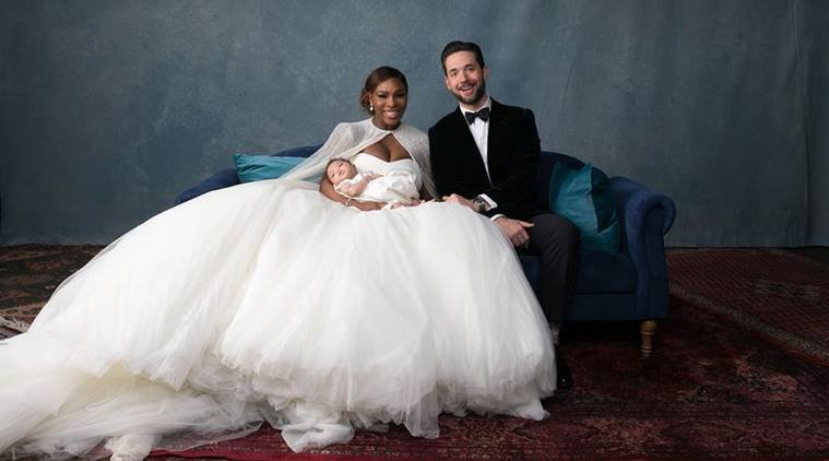 Resultado de la imagen para serena williams y alexis marriage