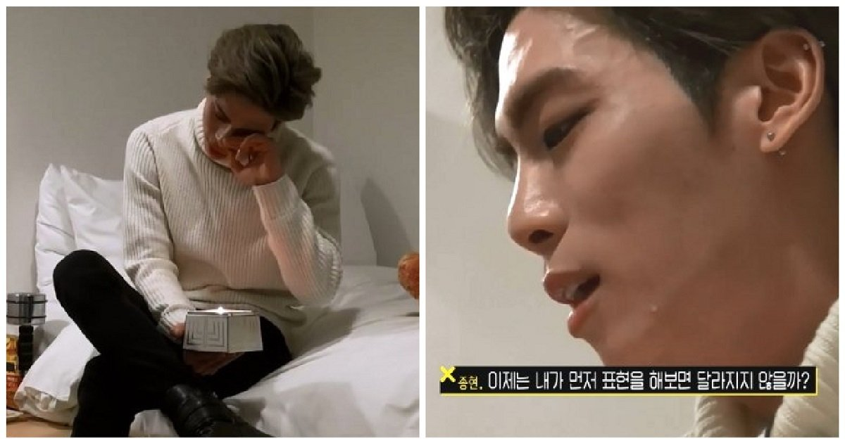 a 2 - 「真的很累」曾在淚水中坦白真心的SHINee鐘鉉 (影片)