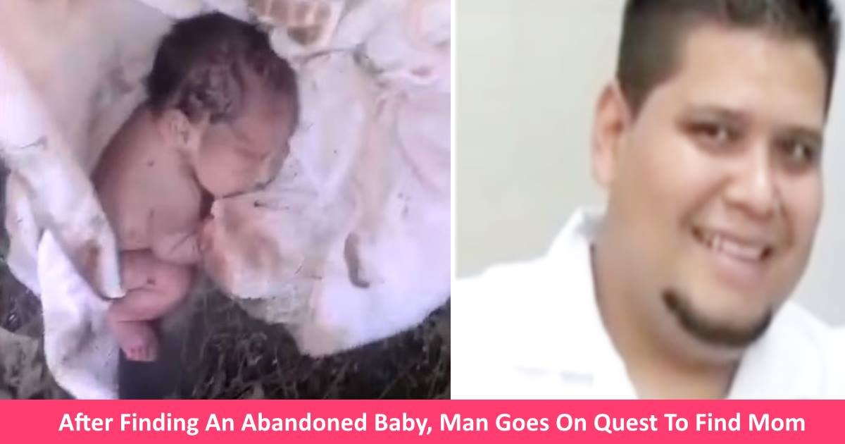 abandonedbaby.jpg?resize=300,169 - After Finding An Abandoned Baby, Man Goes On Epic Quest To Find Parents