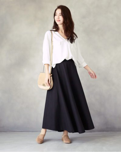 オーバーサイズのトップス ロングスカート에 대한 이미지 검색결과