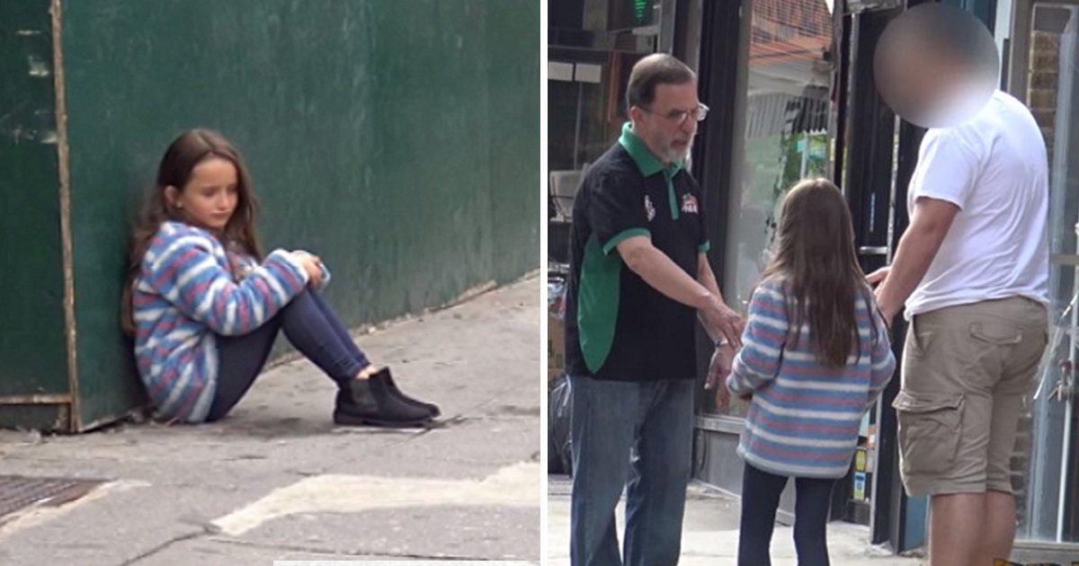 "article thumbnail 9.jpg?resize=1200,630 - ""사람들은 길 잃은 아이를 도와줄까?"" 친절한 사람들 사이에 있었던 남성의 정체 (영상)"