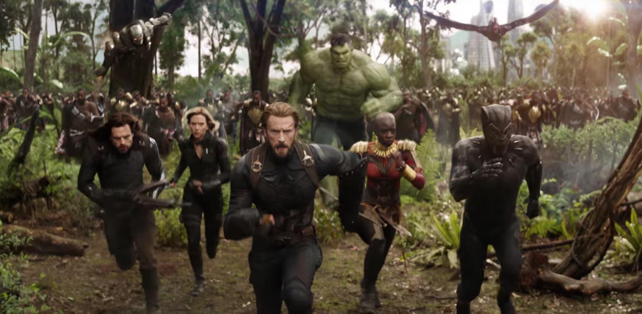 avengers infinity warbig - Le premier trailer d'Avengers : Infinity War envoie du lourd!