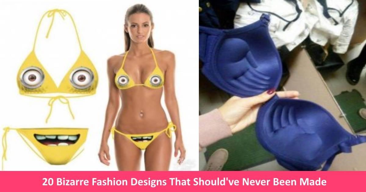 bizarrefashion - 20 Bizarre Fashion Designs That Make You Wonder How They Ever Got Made