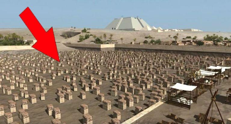 building the pyramids 2.jpg?resize=300,169 - Arqueólogos finalmente revelam o segredo de como as pirâmides foram construídas