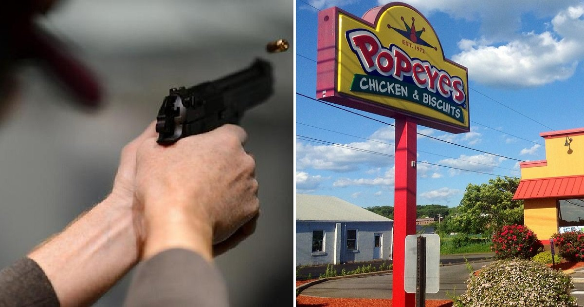 burgerking popeyes 0hh - A Father Protected His Kids By Shooting A Robber At Popeyes
