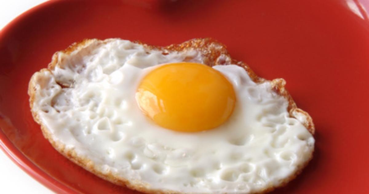 Caloria de ovo frito
