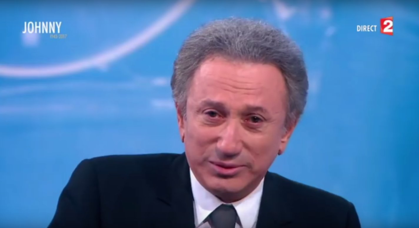 capture decran 2017 12 07 a 12 55 34 - Hommage à Johnny : les larmes de Michel Drucker