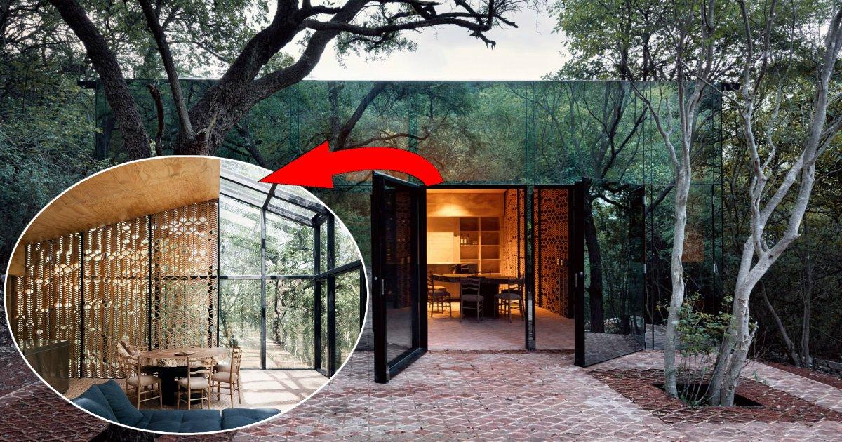 """casa.jpg?resize=412,232 - Arquiteta projeta casa """"invisível"""" e completamente ecológica no México"""