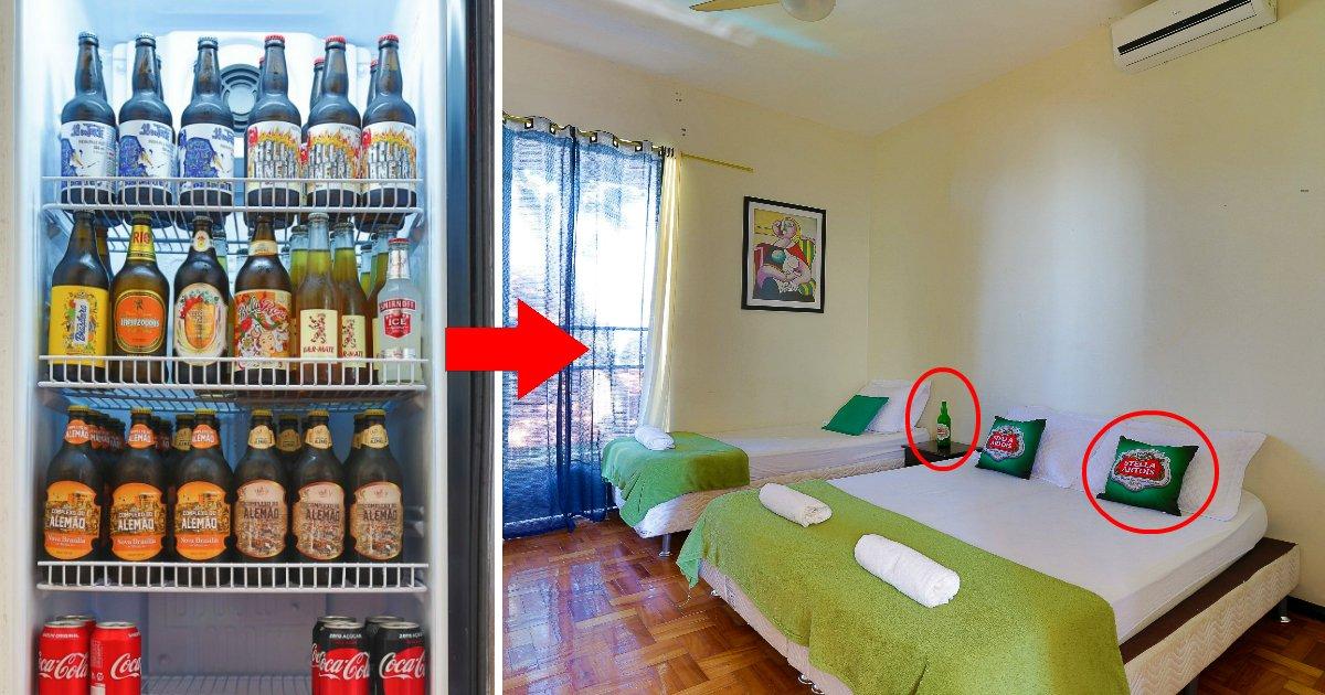 cerveja1.jpg?resize=1200,630 - Este hostel do Rio de Janeiro é o primeiro do país a possuir uma temática de cerveja