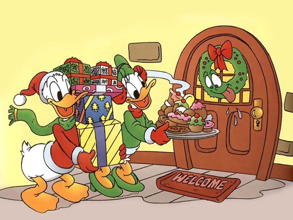 christmas-donald-duck-and-daisy