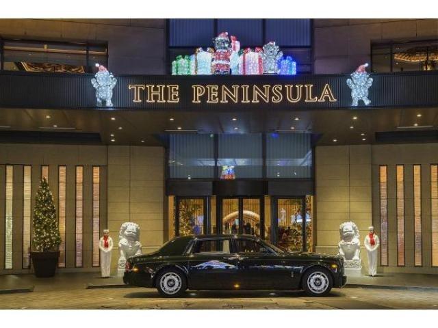 「クリスマス ペニンシュラ東京」の画像検索結果
