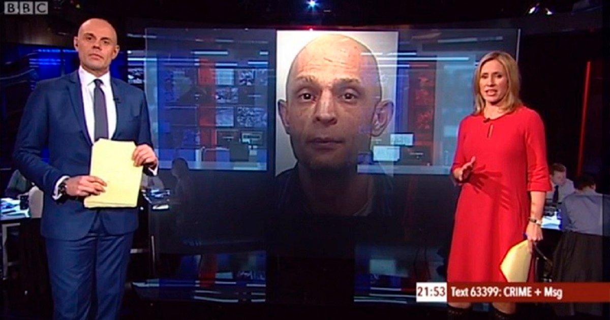 cobver6 - Un presentador de noticias anuncia el crimen de un hombre y cuando aparece su foto es idéntico a él