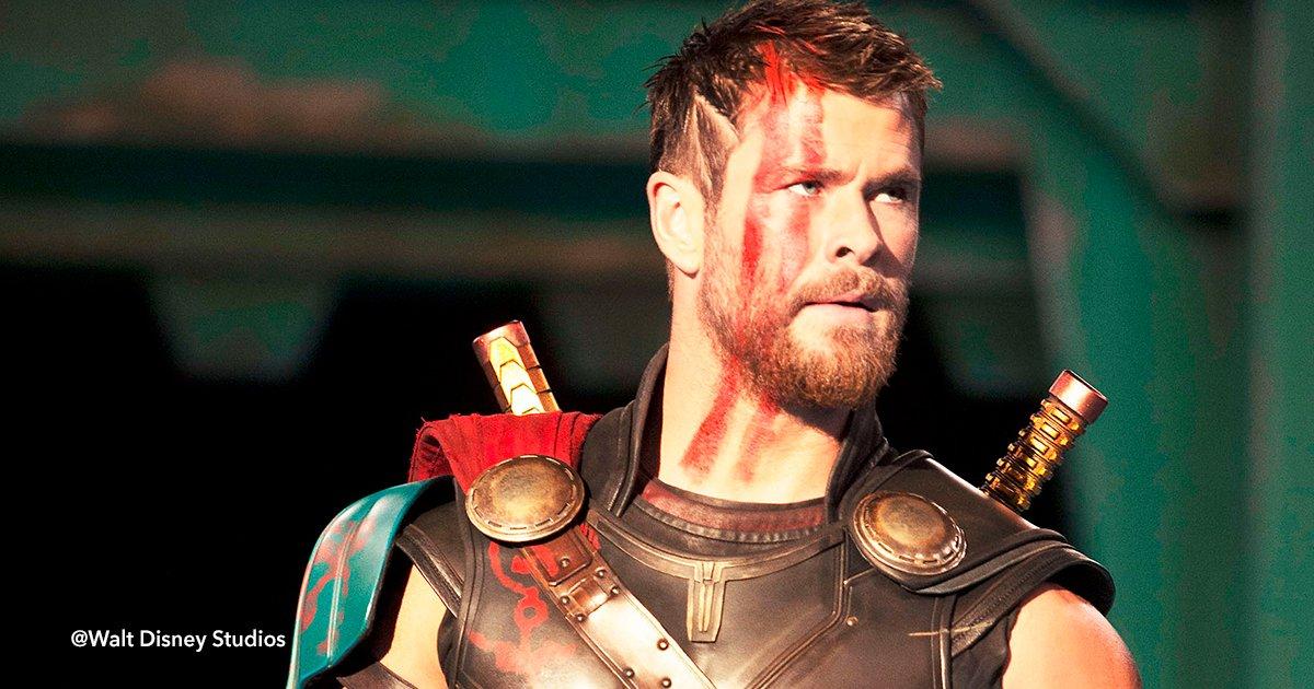 cover 14 - Una persona que no estaba dentro del elenco de Thor Ragnarok  se le ocurrió esta frase y a Chris Hemsworth le pareció genial.