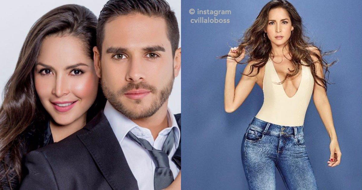 cover 2.jpg?resize=1200,630 - La guapa actriz colombiana Carmen Villalobos publicó un hermoso mensaje de cumpleaños a su novio Sebastián Caicedo