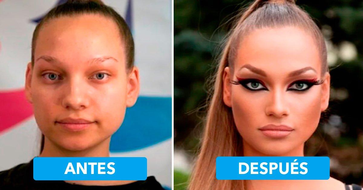 cover 20.jpg?resize=412,232 - 20 increíbles transformaciones que prueban que un buen maquillaje puede hacer magia