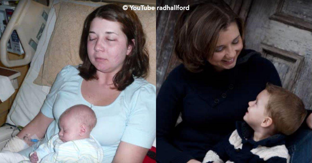 cover 26.jpg?resize=1200,630 - Una joven madre enferma de cáncer, pero después de tener a su bebé, se salva milagrosamente