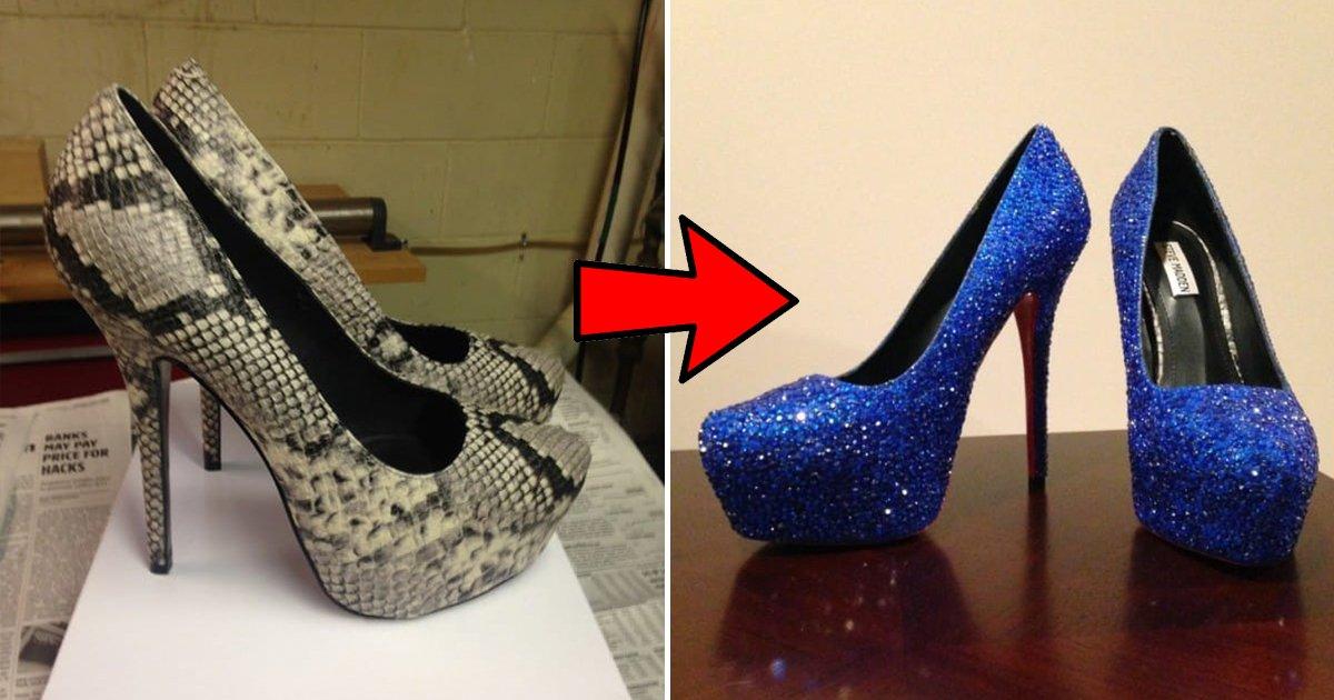 cover 30.jpg?resize=1200,630 - Una chica soñaba con unos zapatos de 6 mil dólares y su hermana le fabricó unos idénticos por menos de 50.