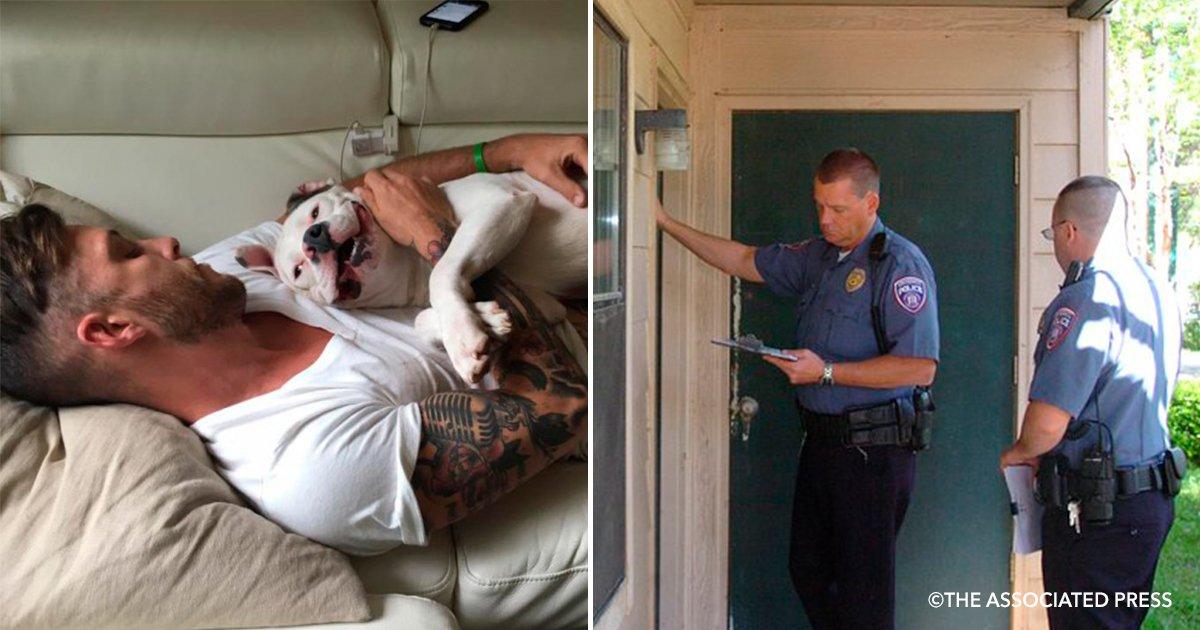 cover3.jpg?resize=1200,630 - Ele publicou fotos com seu cachorro no Facebook e a polícia bateu na sua casa
