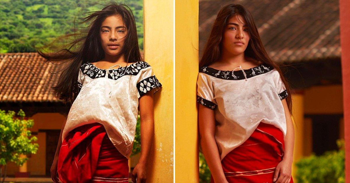 """cover5.jpg?resize=1200,630 - Después de 6 años el fotógrafo de """"La niña más bonita de México se encuentra con ella y descubre que sigue hermosa"""