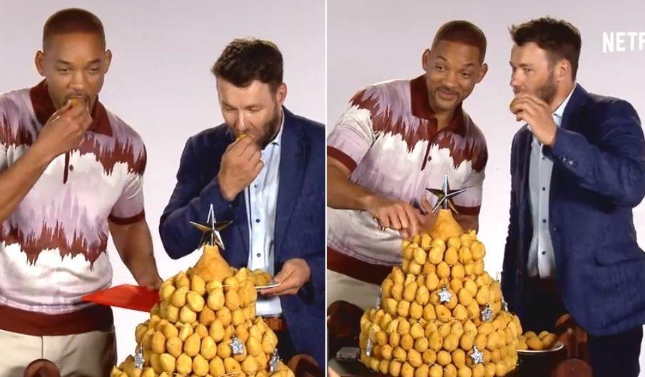 coxinha.jpg?resize=1200,630 - Will Smith ganha árvore de natal de coxinhas de fãs brasileiros