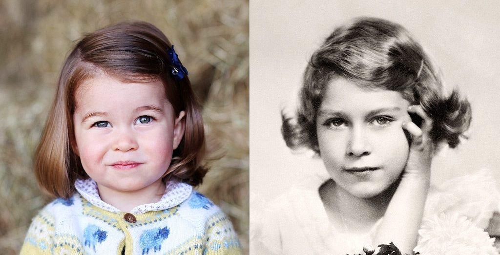 d874b2b0c697bb46c11530e980647aa9 e1515570245475.jpg?resize=1200,630 - Princesa Charlotte é muito parecida com a Rainha Elizabeth II quando pequena