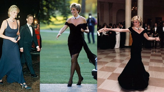 """diana - Lady Di : sa célèbre """"robe de la vengeance"""" et autres tenues marquantes"""