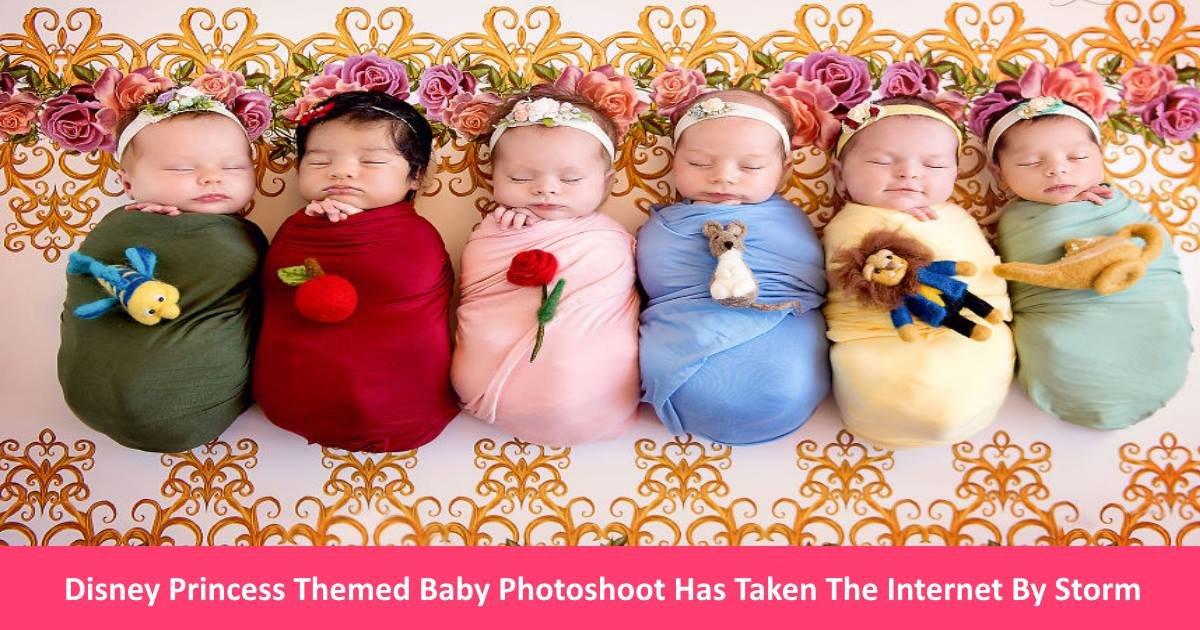 disneyprincessbabies.jpg?resize=412,232 - Disney Princess Themed Baby Photoshoot Has Taken The Internet By Storm