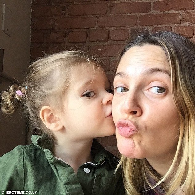 drew barrymore and her daughter 32C0302700000578 3526606 image a 48 1459961605701 - Drew Barrymore Shares Rare Photos Of Her Daughter, She Looks Exactly Like Mom!
