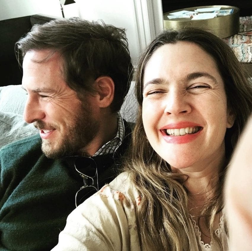 drew barrymore and her daughter Screen Shot 2017 11 27 at 5.39.56 PM 850x849 - Drew Barrymore Shares Rare Photos Of Her Daughter, She Looks Exactly Like Mom!