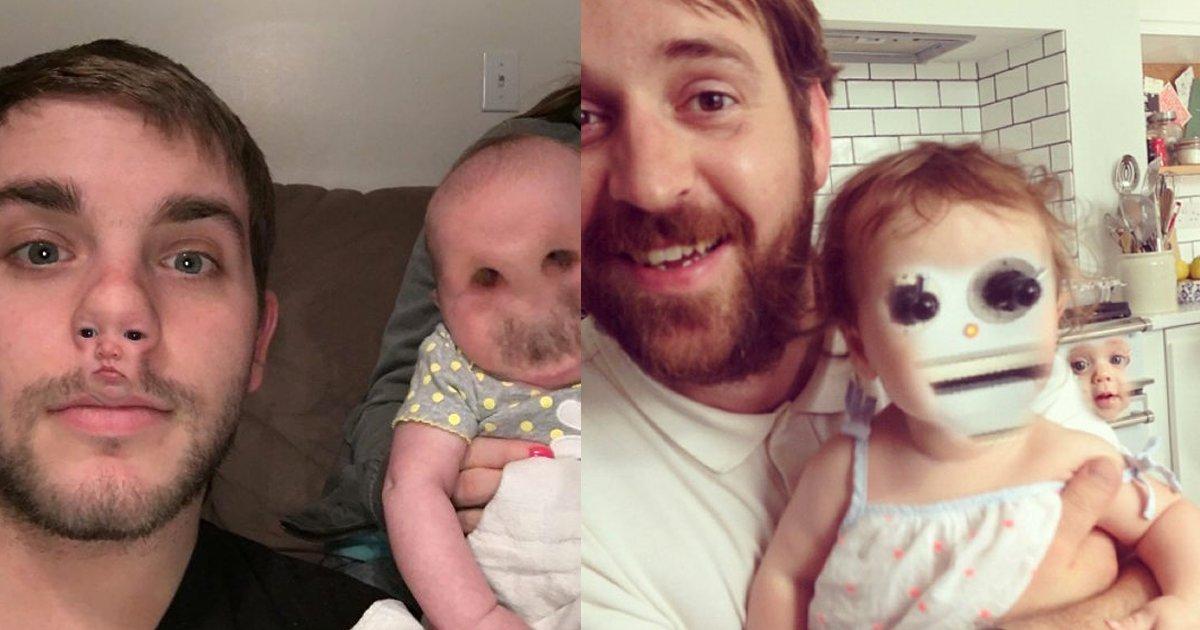 e69caae591bde5908d 1 26.png?resize=1200,630 - 真的娃娃臉:和寶寶玩換臉app卻馬上後悔的新手爸媽們