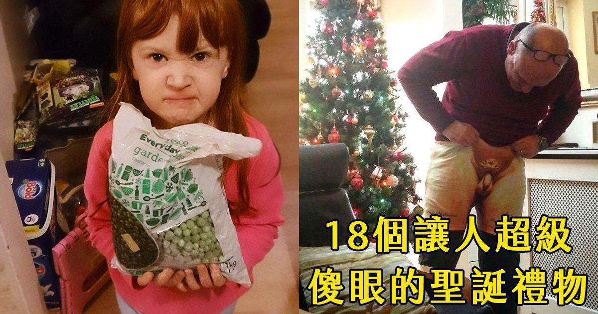 e69caae591bde5908d 1 42 - 這到底是什麼啦!?18個令人超無言以對的聖誕禮物...