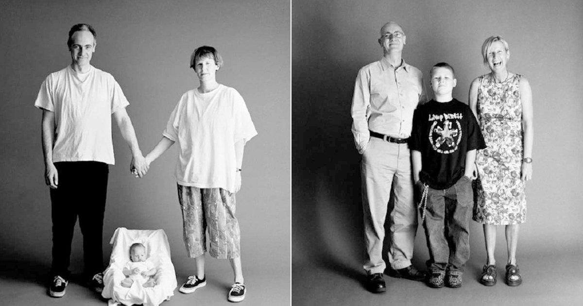 eab080eca1b1ec82aceca784 - 무려 '25년' 동안 같은 포즈로 '가족사진' 찍은 가족의 모습