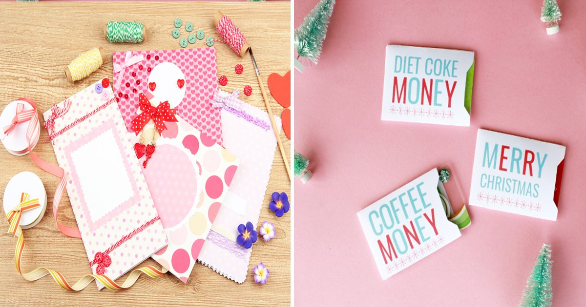 Simple But Creative Ways To Wrap Gift Cards For Your Friends and ...