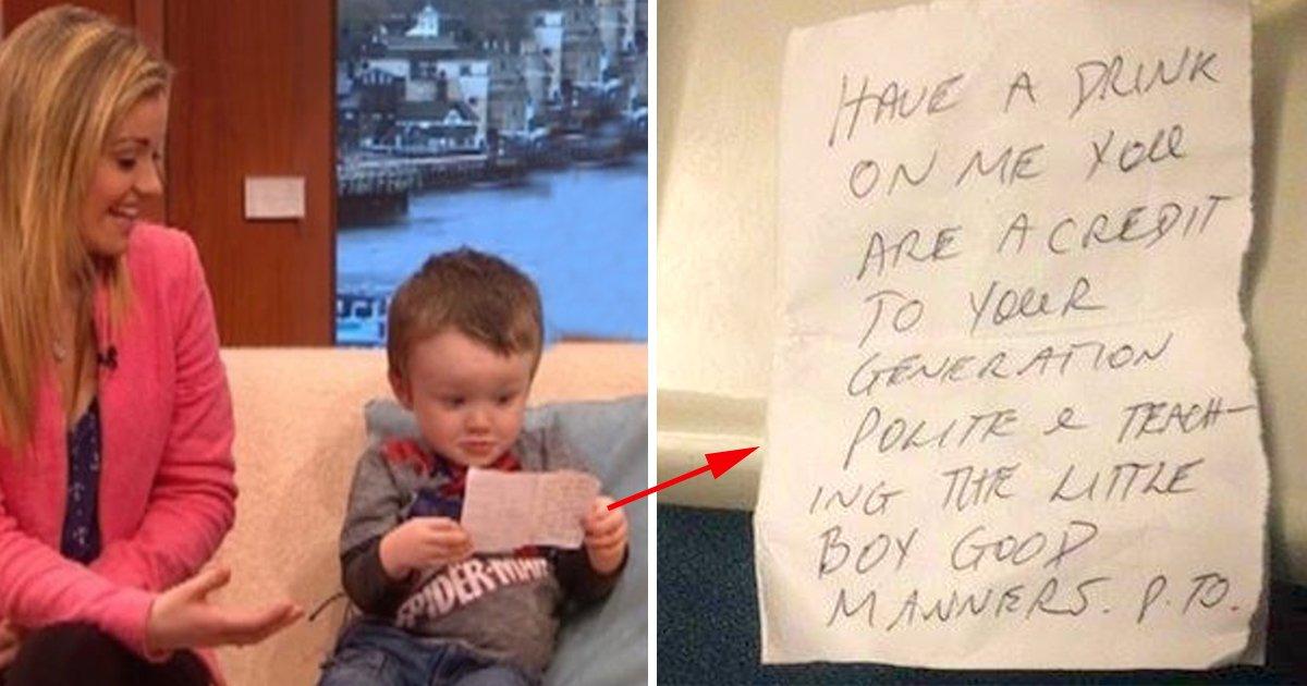 ec8db8eb84a4ec9dbc7 5.jpg?resize=300,169 - Strange Man Hands Note To A Mom After Her Boy Fell Asleep On Train