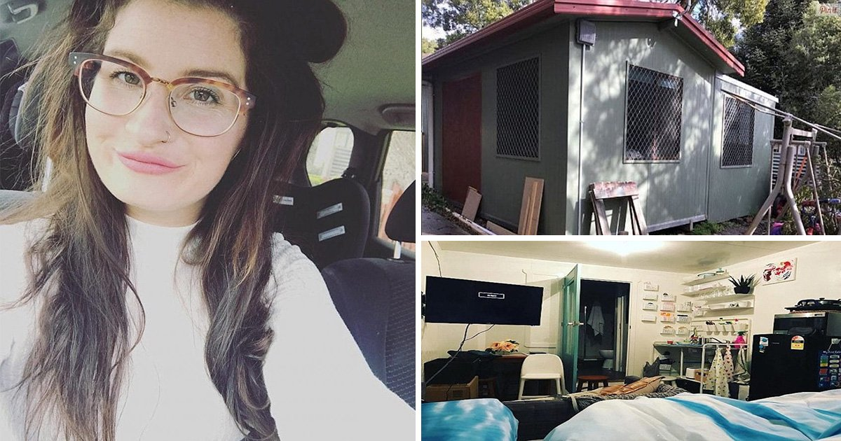 ec8db8eb84ac13 1.jpg?resize=412,232 - Single Mom Saves Herself from $400,000 Mortgage Loan by Building Tiny House
