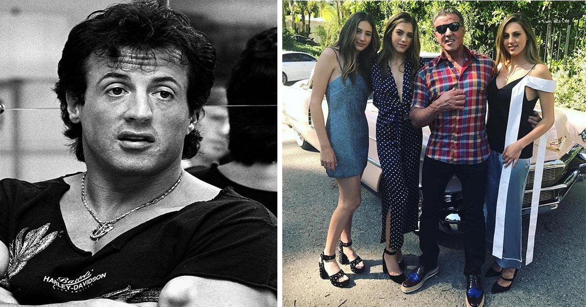 ec8db8eb84ac19 2.jpg?resize=300,169 - Sylvester Stallone's Daughters All Grown Up With Modeling Careers of Their Own