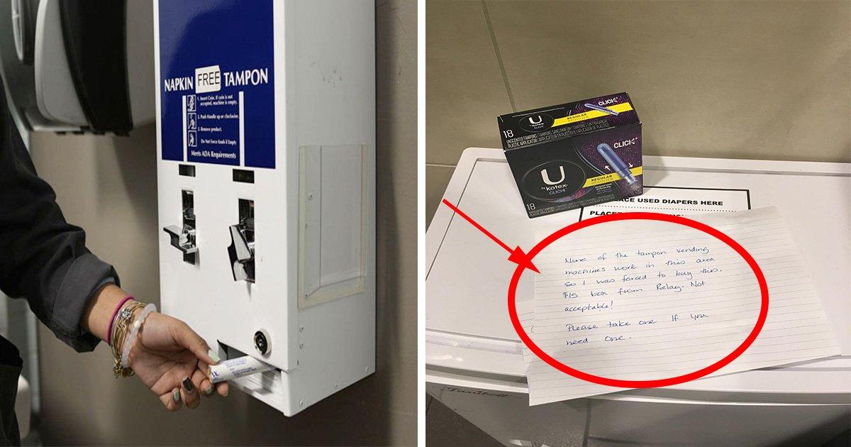 ec8db8eb84ac21 2.jpg?resize=636,358 - Mulher no aeroporto é obrigada a comprar uma caixa de absorventes por US$ 15 - ela decide escrever uma nota de indignação nas mídias sociais