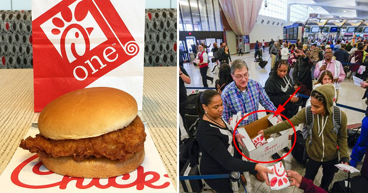 ec8db8eb84ac3 10 - Chick-Fil-A Opens On Sunday to Feed Thousands of Passengers Stranded at the Atlanta Airport after a Power Outage