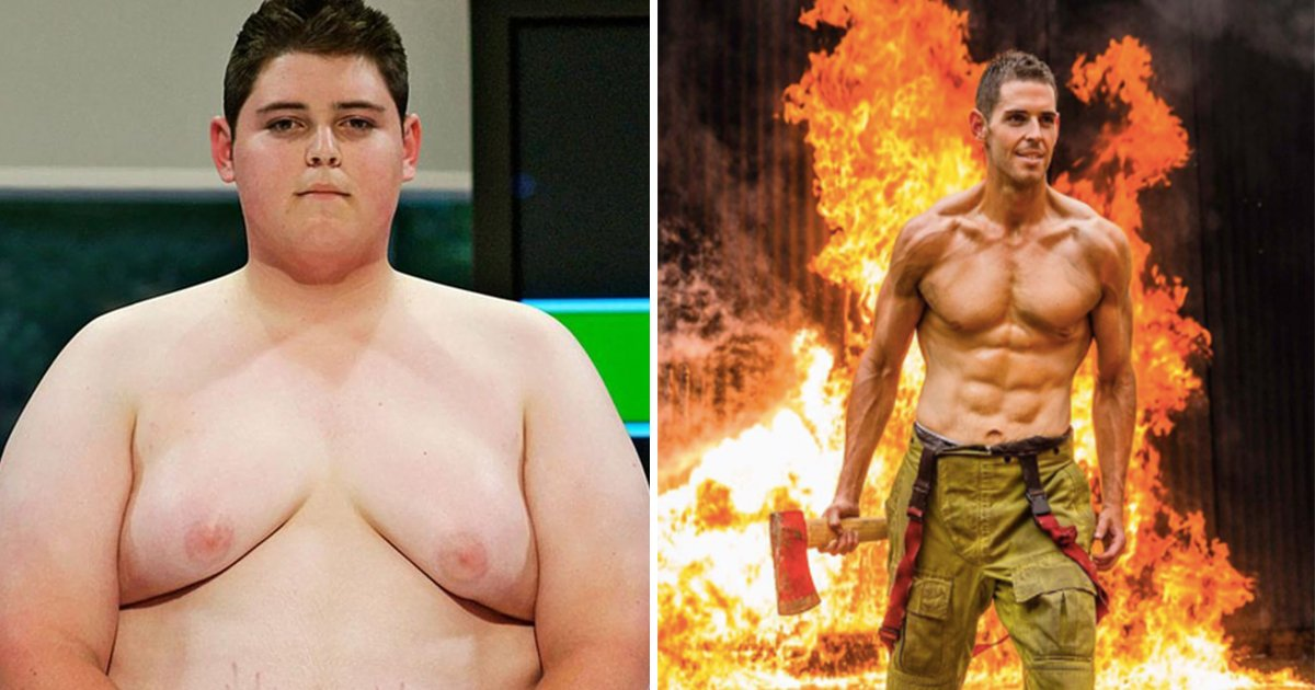 ec8db8eb84ac6 4 - The winner of 'The Biggest Loser.' Year later, He Becomes The Firefighter That Changed His Life
