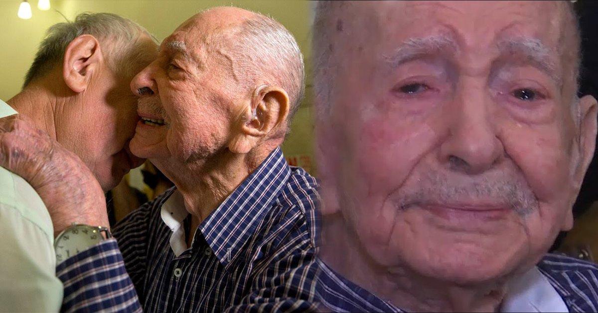 ec8db8eb84ac7.jpg?resize=1200,630 - O sobrevivente do Holocausto que se encontrou com a família depois de pensar que todos haviam morrido nos campos de concentração