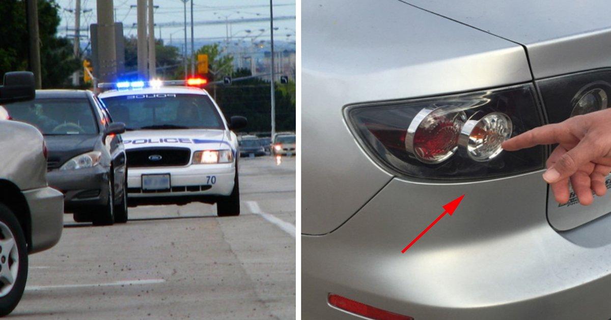 ec8db8eb84ac8.jpg?resize=648,365 - Veja qual é a razão dos policiais tocarem a lanterna traseira do seu carro