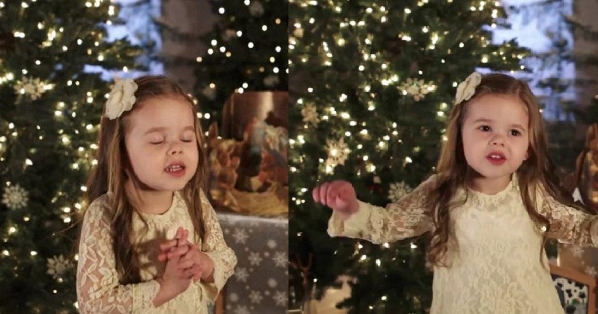 eca09cebaaa9 ec9786ec9d8c 111.png?resize=300,169 - Adorable Toddler Sings Christmas Hymn In Innocent Voice