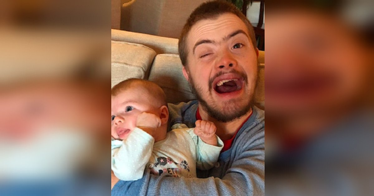 eca09cebaaa9 ec9786ec9d8c 123.png?resize=412,232 - A Man With Down Syndrome Held His Niece First Time And Made The Whole Internet Cry
