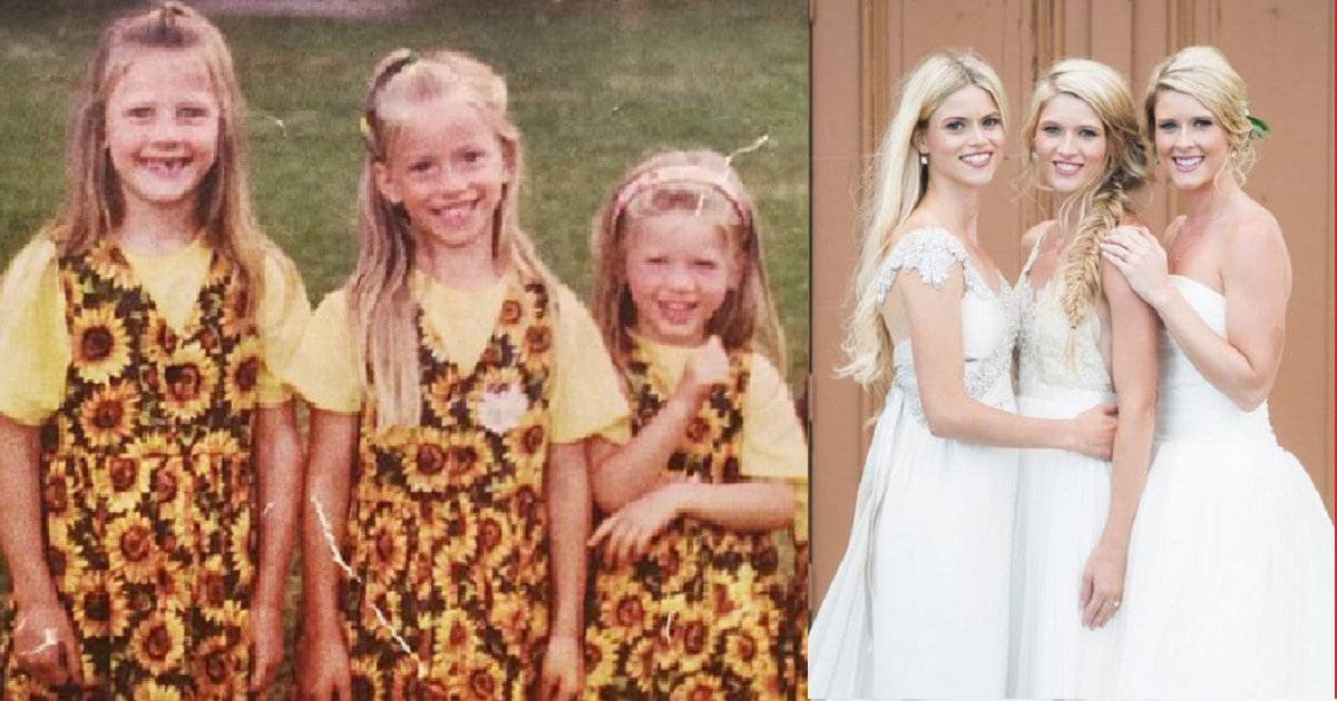 eca09cebaaa9 ec9786ec9d8c 138.png?resize=300,169 - 3 Sisters Marry Their Childhood Sweethearts In A Triple Wedding
