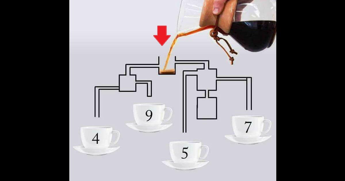 """eca09cebaaa9 ec9786ec9d8c 17.png?resize=1200,630 - """"Qual xícara enche primeiro?"""" - Preste atenção, pois o desafio não é tão fácil quanto parece"""